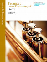 Trumpet Etudes Levels Preparatory-4  2013 Edition BTS1