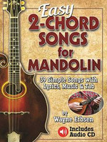 Easy 2-Chord Songs for Mandolin