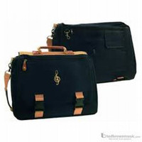 G-Clef Attache Black/Tan