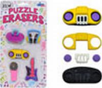 Music Puzzle Erasers