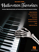 Halloween Favorites - Big Note Piano Songbook