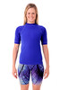 Adults Unisex Short Sleeve Wetshirt - Front View