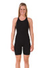 Female Knee length swimsuit - front view