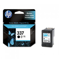 HP 337 Original Black Ink Cartridge (C9364EE, HP337, No.337, HP 337, 337)