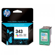 HP 343 Original Tri-Colour Ink Cartridge (C8766EE, No 343, HP343, C8766AE)