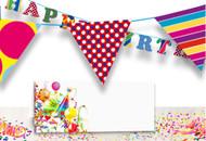 Free Birthday Decorations Print Template