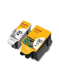 Kodak 30 Original Black & Tri-Colour Ink Cartridges Multipack - (8039745, 30B, 3952330, 30CL, 8898033)