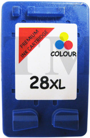 HP 28 XL Remanufactured Ink Cartridge - High Capacity Tri-Colour Ink Cartridge - Compatible For  (C8728AN, HP 28, C8728AE, HP28)