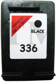 HP 336 Remanufactured Ink Cartridge - High Capacity Black Ink Cartridge - Compatible For  (C9362EE, HP No.336, 336, C9362E)