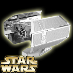 Star Wars 3D DIY Stainless Steel Mini Model Kit - Darth Vader TIE Advanced X1 (DIYC010700) by IQCUBES.COM