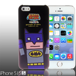 iPhone SE / 5 / 5S / 5C Comic Case: Justice League X Korejanai DC Comics Heroes - Batman Limited Edition CMCA029900 by IQCUBES.COM