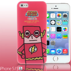 iPhone SE / 5 / 5S / 5C Comic Case: Justice League X Korejanai DC Comics Heroes - The Flash Limited Edition CMCA029800 by IQCUBES.COM