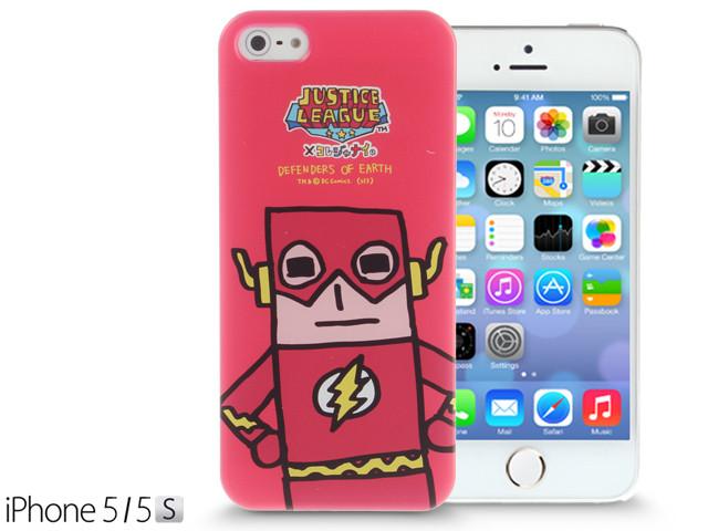 iPhone SE / 5 / 5S / 5C Comic Case: Justice League X Korejanai DC Comics Heroes - The Flash Limited Edition CMCA029800 by IQCUBES.COM