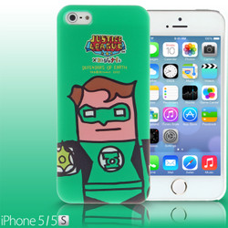 iPhone SE / 5 / 5s / 5c Comic Case: Justice League X Korejanai DC Comics Heroes - Green Lantern (Limited Edition) (CMCA029600) by IQCUBES.COM