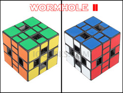 IN-OUT WORM HOLE 3x5x3 IQ Cube (IQBG008901) by IQCUBES.COM