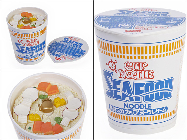 Explosive 3D Cup Noodle Puzzle - SEA FOOD (IQBG000400) by IQCUBES.COM