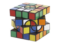 4x4x4 IQ Cube with Axis of Rotation (IQBG000600) by IQCUBES.COM