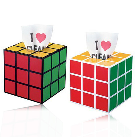 IQ Cube Magic Cube Rubik Tissue Box (GGLFS038300) by IQCUBES.com