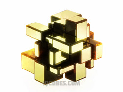 Transformed Mirror Gold IQ Cube