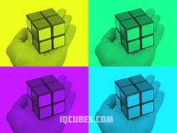 2x2x2 IQ Cube (IQBG003600) by IQCUBES.com