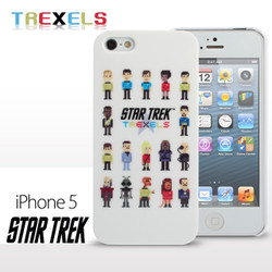 iPhone SE / 5 / 5S Comic Case Star Trek - TREXELS Phone Case (Limited Edition) (CMCA011800) by IQCUBES.COM