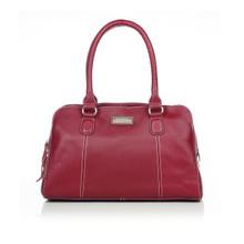 aretha 141191 Genuine Leather shoulder bag red