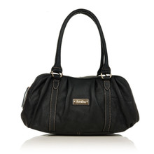aretha 141271 Genuine Leather shoulder bag black