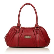 aretha 141271 Genuine Leather shoulder bag red
