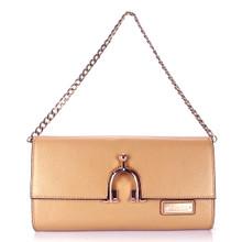 aretha 141301 Genuine Leather clutch bag red