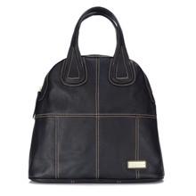 aretha 141450 Genuine Leather shoulder bag black