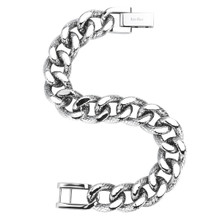 aretha BR50453-21 316L Stainless Steel Bracelet silver