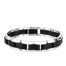 aretha BR50439-21 316L Stainless Steel Bracelet black
