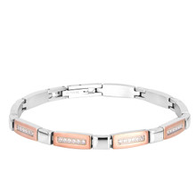 aretha BR83164-19 316L Stainless Steel Bracelet rose gold