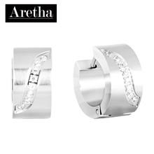 aretha ER52141 316L Stainless Steel Earrings silver