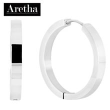 aretha ER50228 316L Stainless Steel Earrings silver