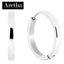 aretha ER50230 316L Stainless Steel Earrings silver