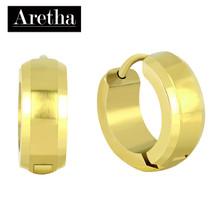 aretha ER70224 316L Stainless Steel Earrings gold