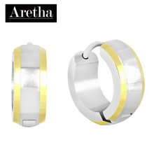 aretha ER60224 316L Stainless Steel Earrings silver
