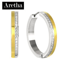 aretha ER62156 316L Stainless Steel Earrings silver