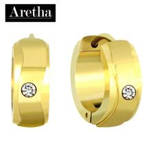 aretha ER72023 316L Stainless Steel Earrings gold