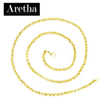 aretha CH72796-50 316L Stainless Steel Necklace gold