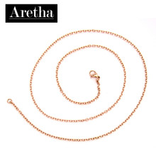 aretha CH82798-45 316L Stainless Steel Necklace rose gold