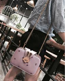 Leather women cross body bag shoulder wallet purse