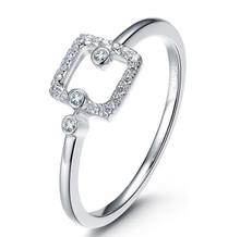 18K GOLD DIAMOND WEDDING RING SQUARE DIAMOND RING IN 18K GOLD CUSTOMIZE