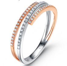 18kt Gold Engagement Diamond Ring Wedding RIng band