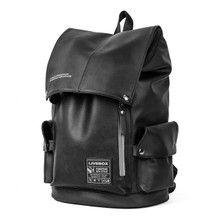 Large school England backpack university college campus backpack  black