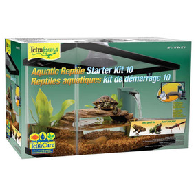 Tetra Fauna Aquatic Reptile Starter Kit 10 Gallon Now with Free Shipping