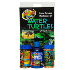 My Turtle Store Zoo Med Aquatic Turtle Food Starter Kit