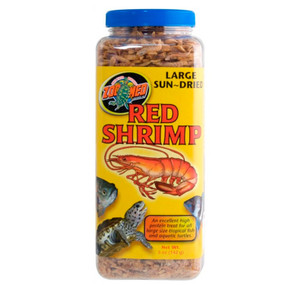 Zoo Med Large Sun Dried Red Shrimp