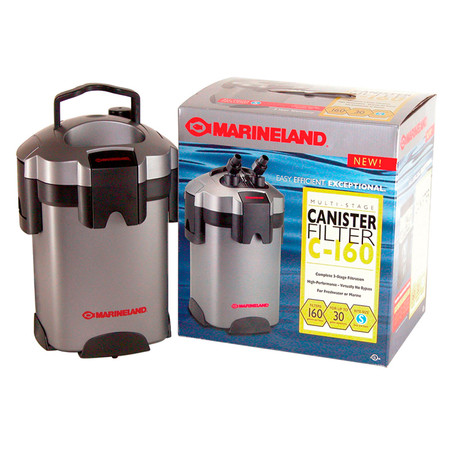 My Turtle Store Marineland Magniflow 160 Canister Filter Turtle Tank Filters